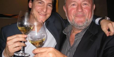 Vittorio Marzotto and Mike Tadich