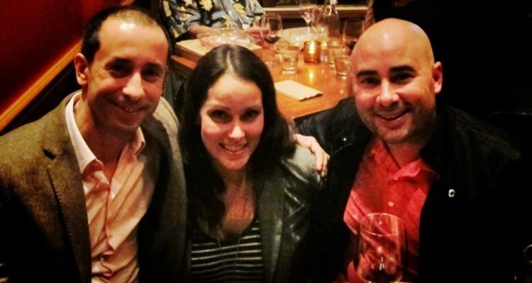 Fabio, Joanie & Ryan @Mozza Newport Beach