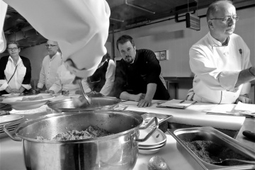 Chef Mark McDonald in Turkey